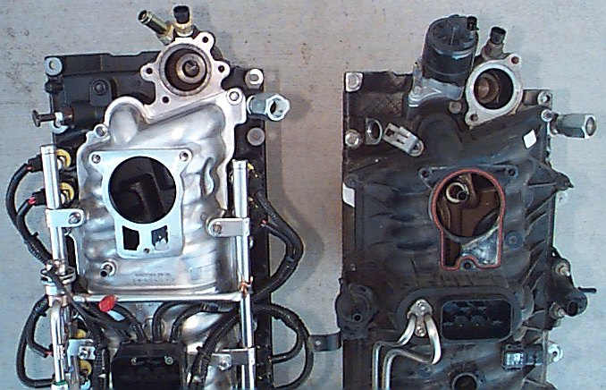 how to clean out marine exhaust manifolds