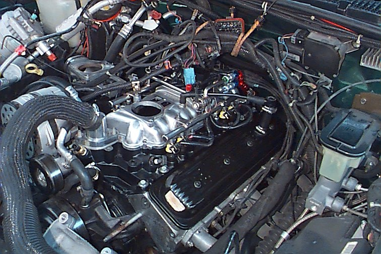 longblock gm performance view topic vortec l31 marine manifold project! q&a 5.7 vortec engine swap wiring harness at crackthecode.co
